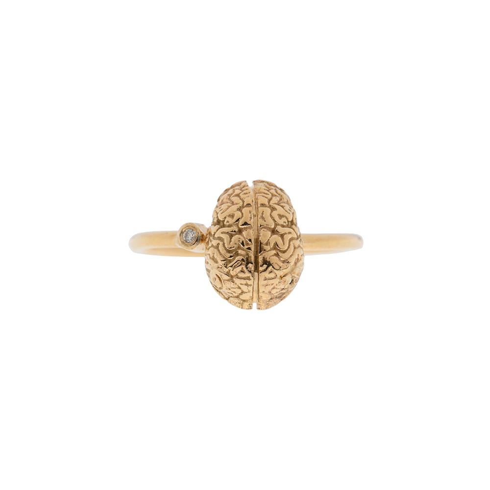Brain with diamond ring Liberta