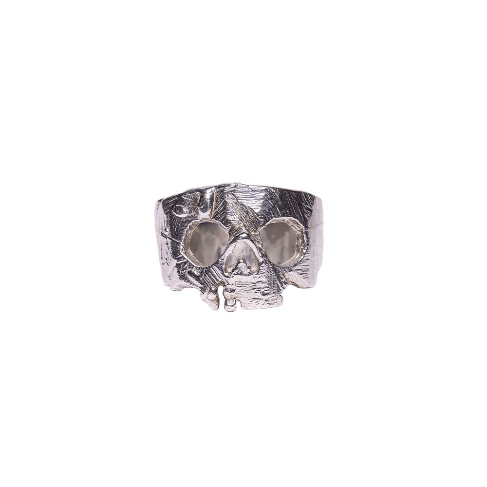 Silver Skull Ring Ioanna Liberta