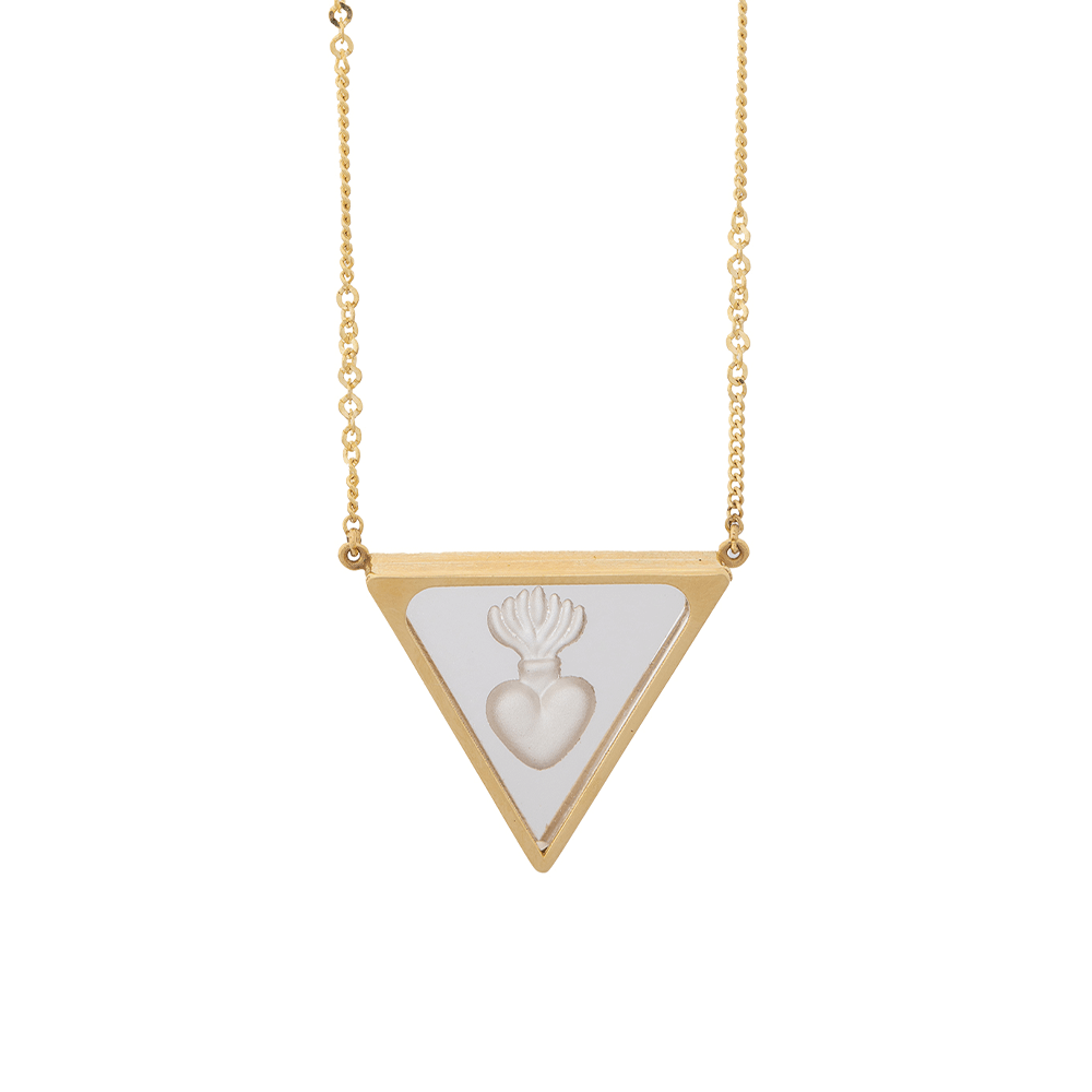 quartz heart triangle ioanna Liberta