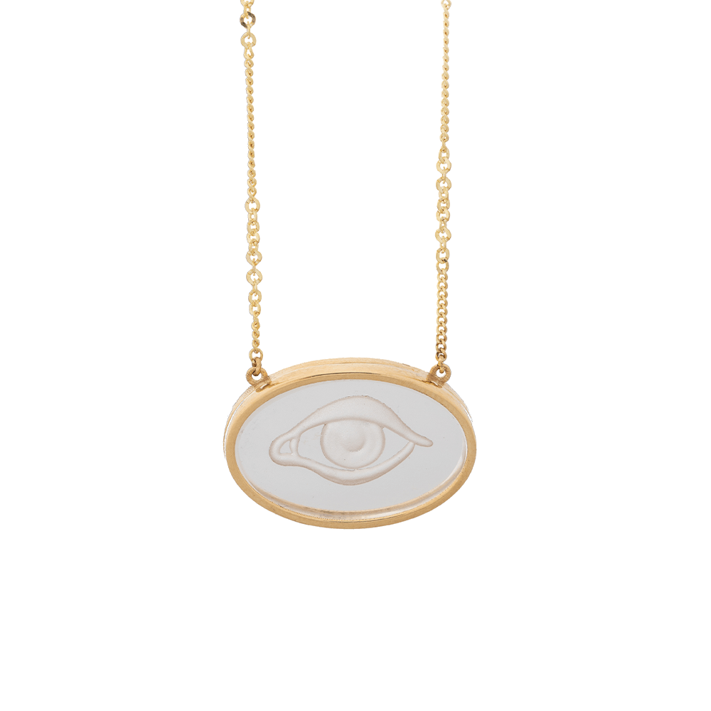 oval quartz eye ioanna liberta