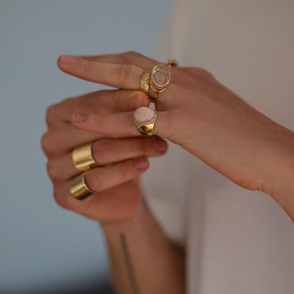 quartz eye ring ioanna liberta