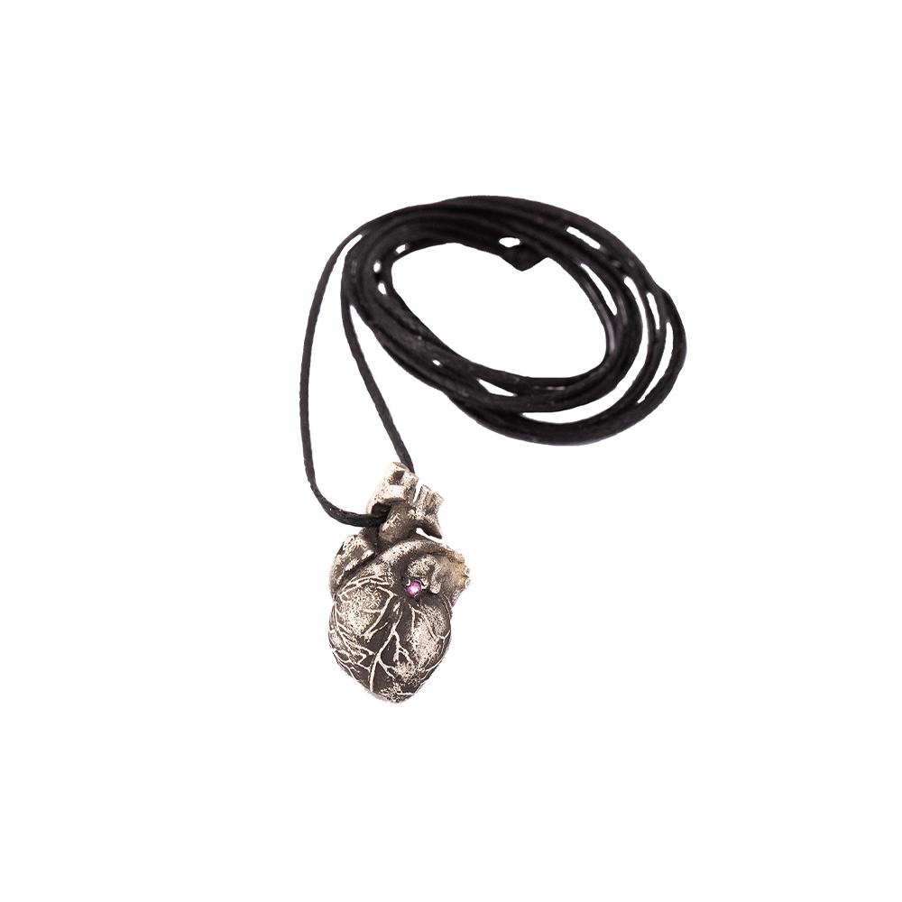 Silver Heart Necklace Ioanna Liberta