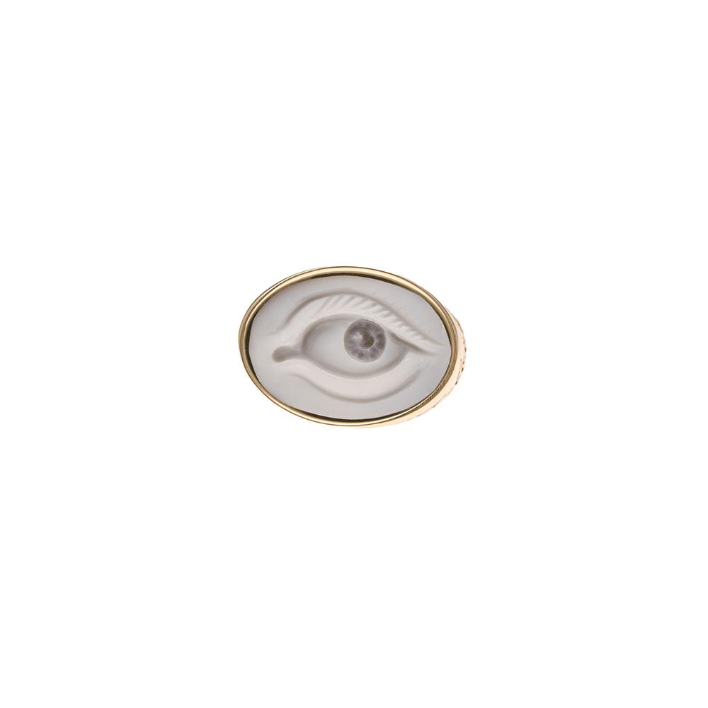 dont look back eye ring ioanna liberta
