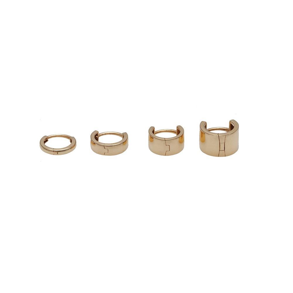 Minimal links earring ioanna liberta