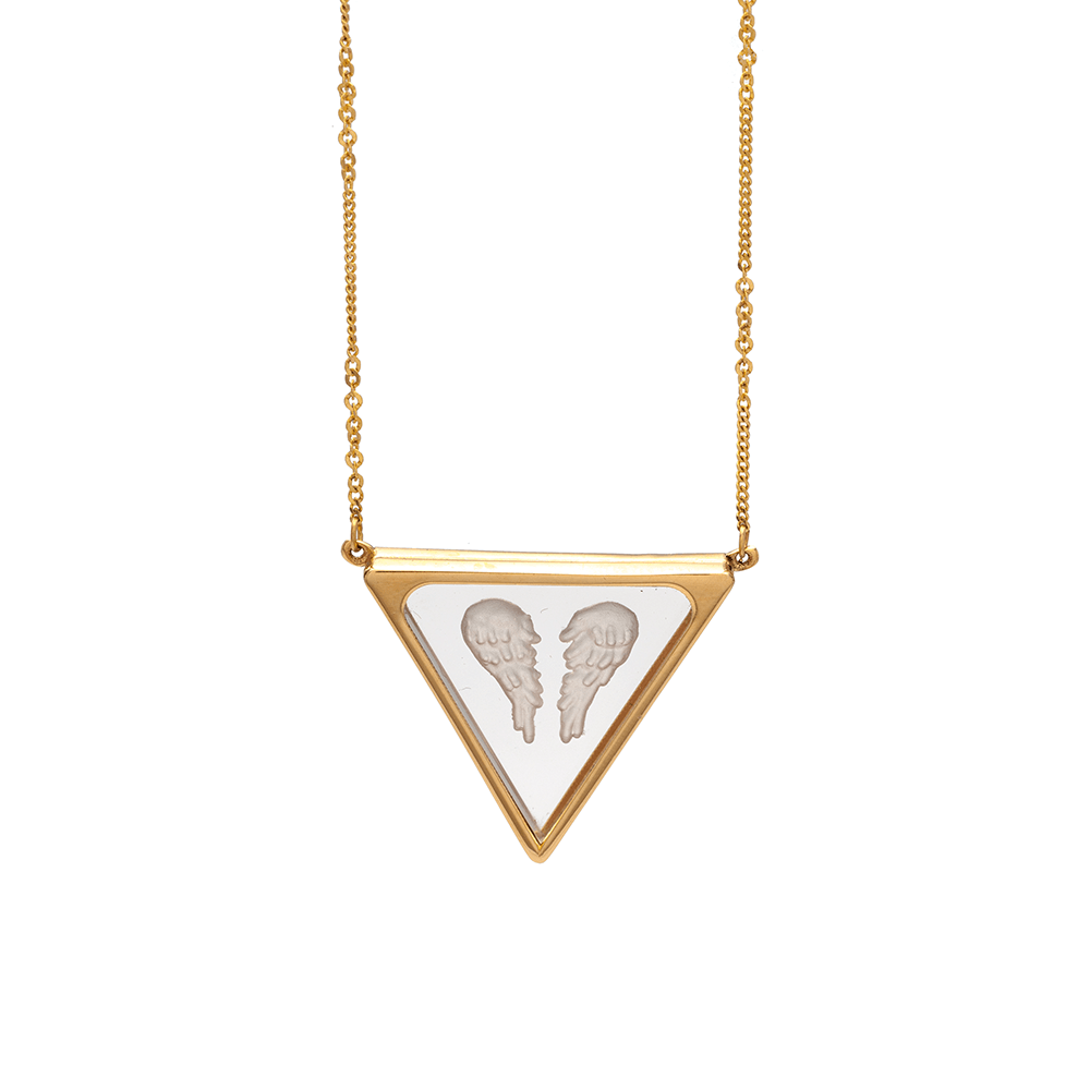 necklace angel quart ioanna liberta