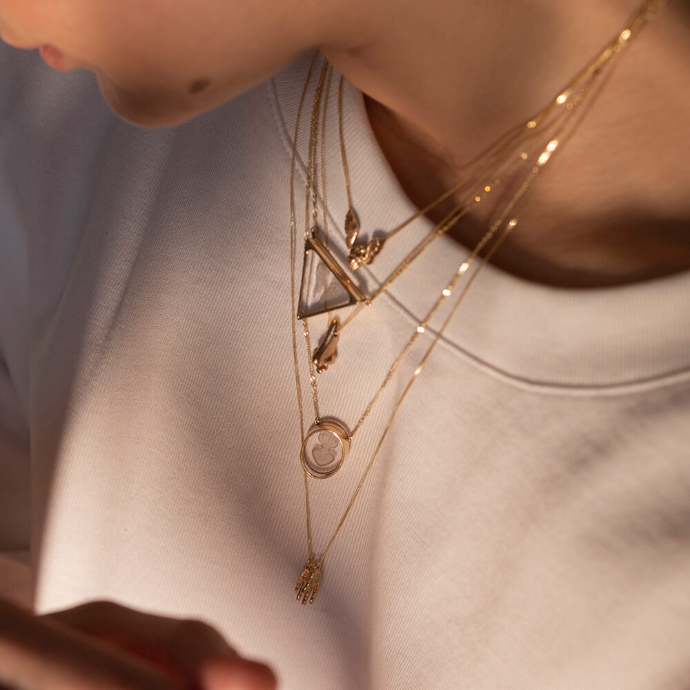 ioanna liberta necklace quartz