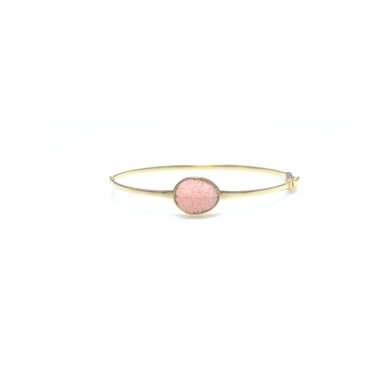 Pink Opal Brain Bracelet