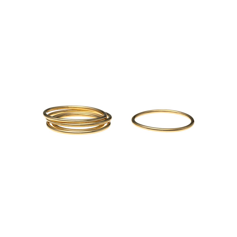 Simple ring ioanna liberta