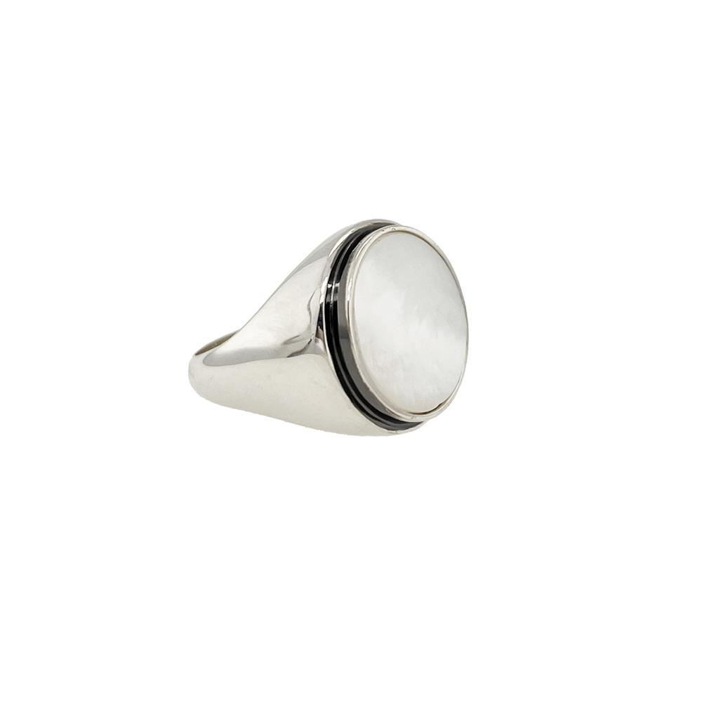 white ivory ring ioanna liberta