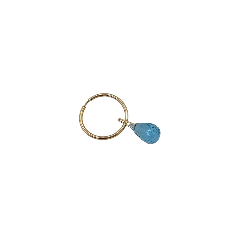 blue topaz earring ioanna liberta