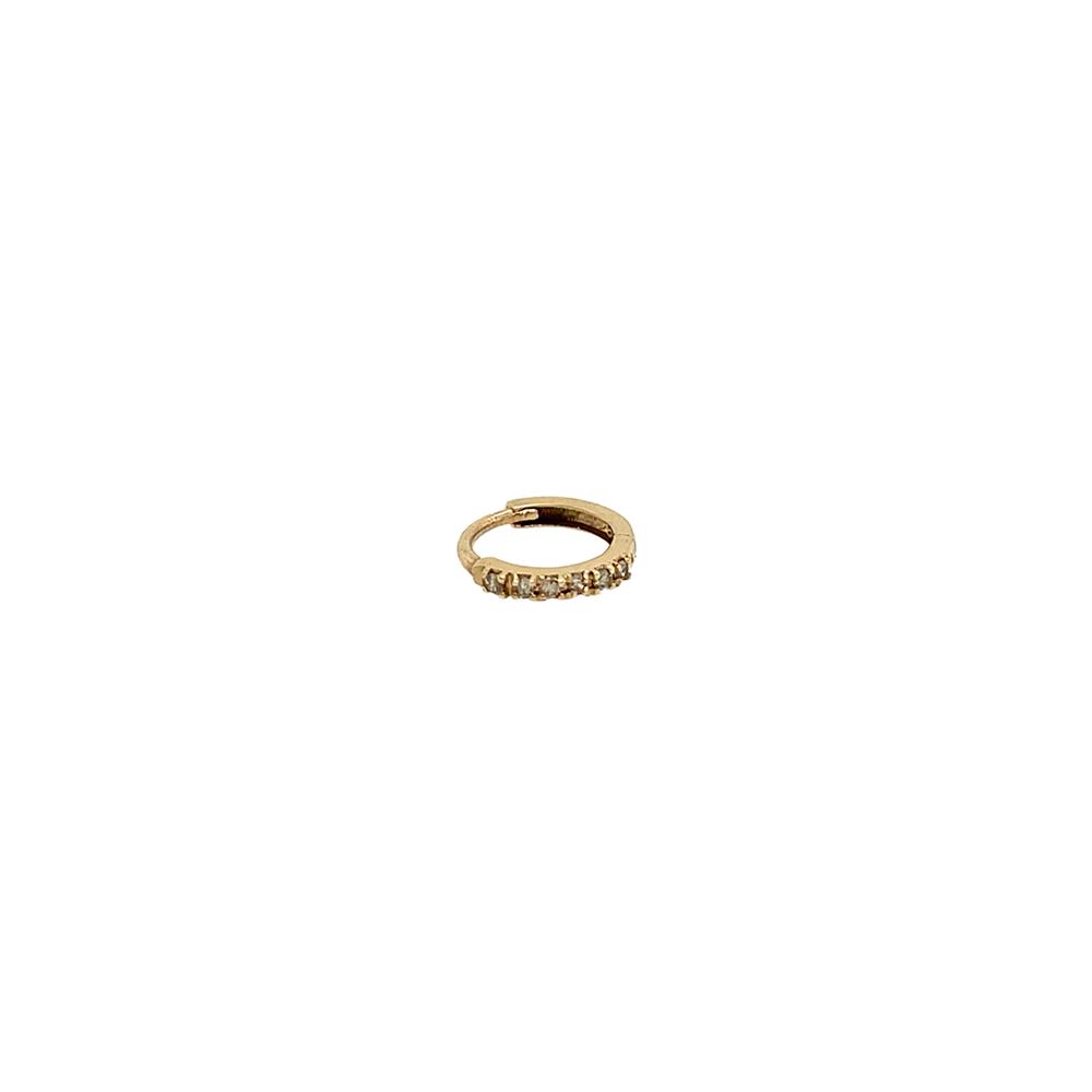diamond link earring ioanna liberta