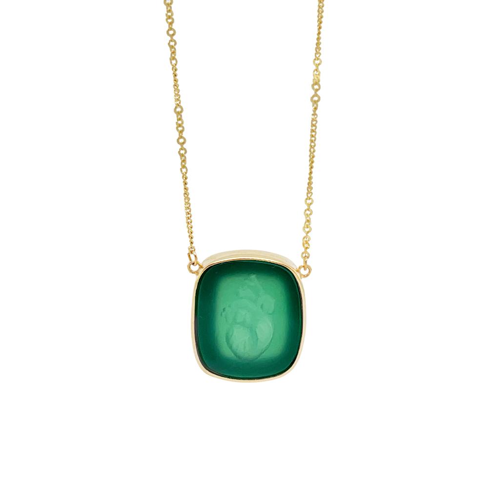green onyx heart ioanna liberta