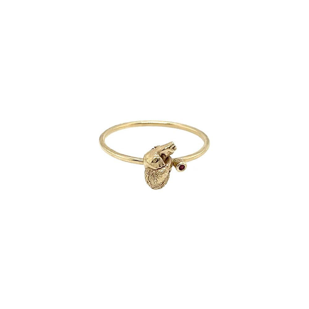 ioanna liberta ruby heart ring