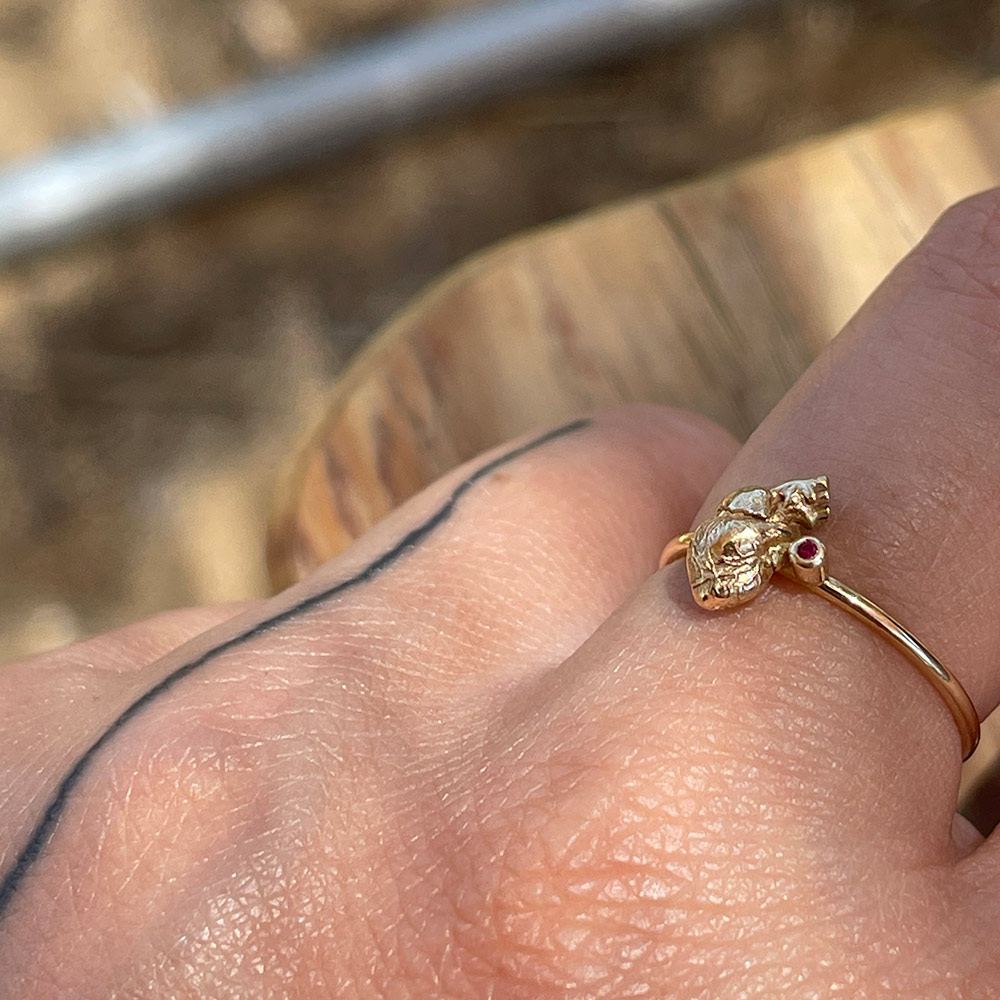 ruby heart ioanna liberarta rings