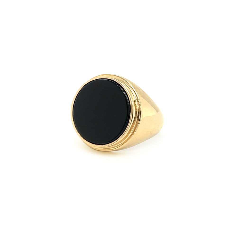 black onyx ring ioanna liberta