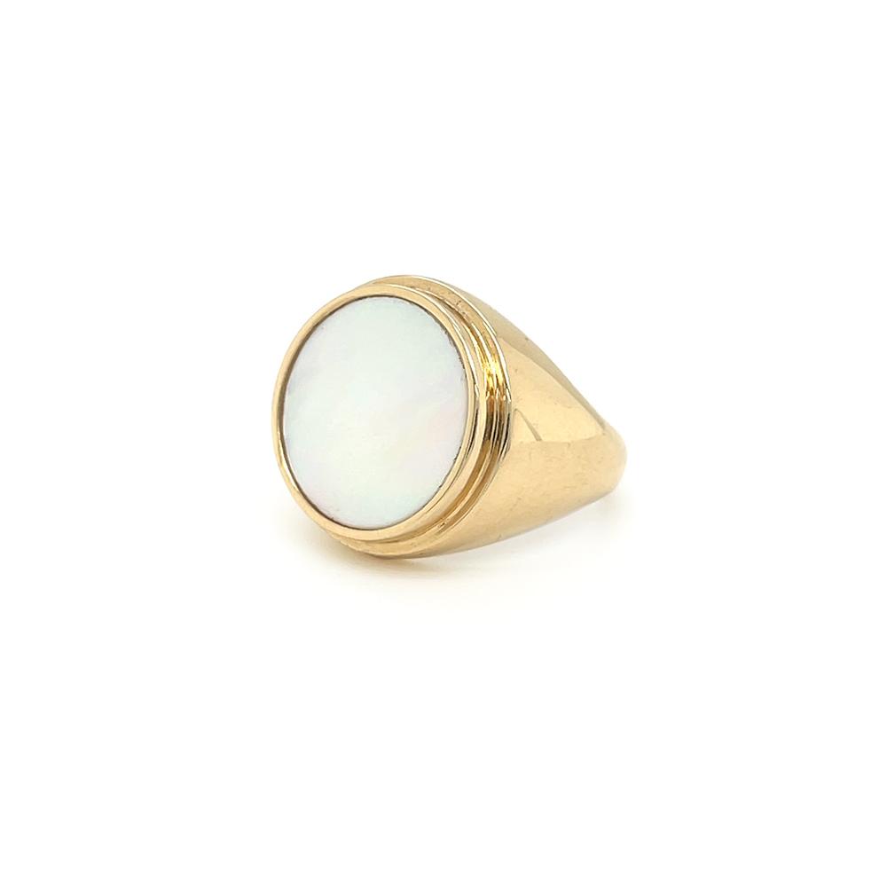 mother of pearl ring ioanna liberta